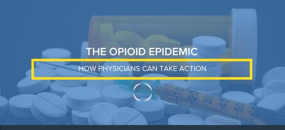 Opioid epidemic banner